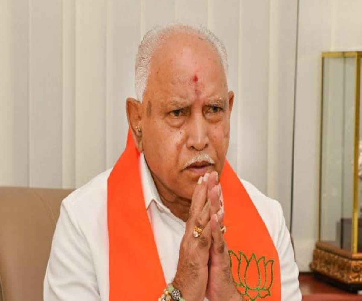 Yediyurapparesigns, Karnatakapolitics, BJP